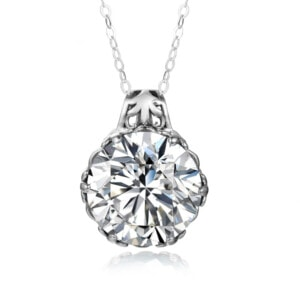 Essence Necklace Silver (Diamond)