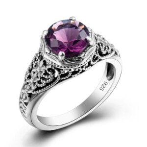 Circle of Elegance Ring (Amethyst)