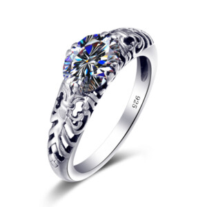 Belle Ring Silver (Diamond)