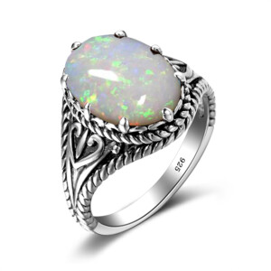 Beauty Ring Silver (Opal)