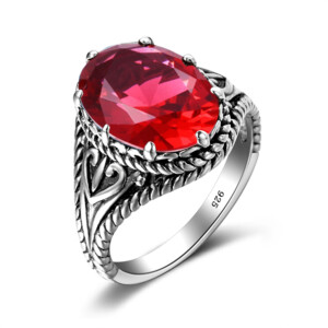 Beauty Ring Silver (Ruby)