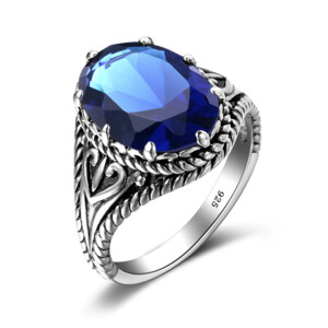 Beauty Ring Silver (Sapphire)