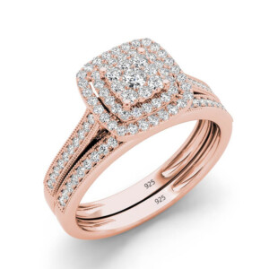Eaves Ring Rose-gold