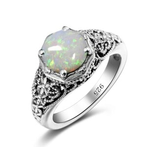 Circle of Elegance Ring (Opal)