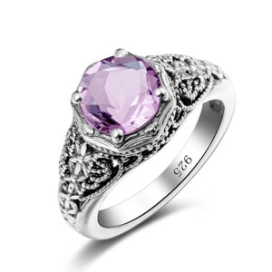 Circle of Elegance Ring (Pink Tourmaline)