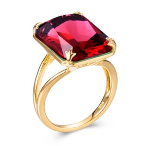 Soleil Ring Gold (Ruby)