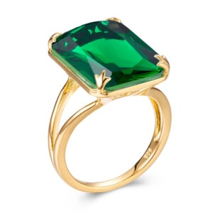 Soleil Ring Gold (Emerald)