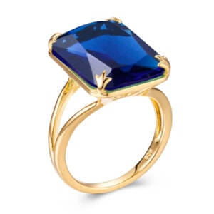 Soleil Ring Gold (Sapphire)