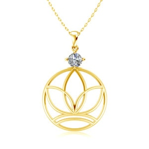 Elements Necklace Gold Earth (Diamond)
