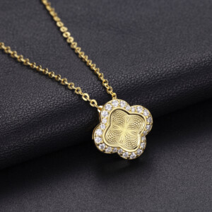 Luck Necklace Gold (Diamond)